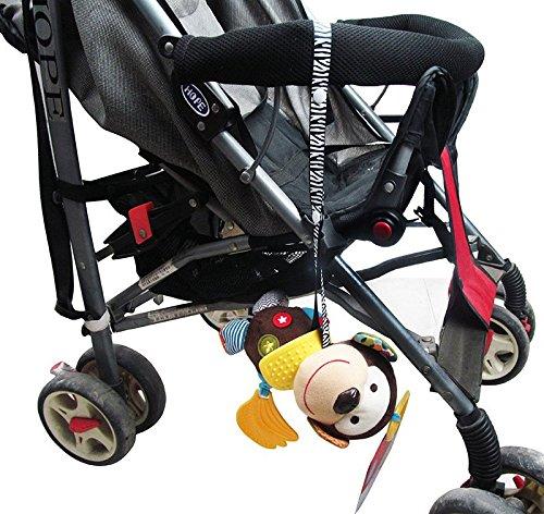 7 correas de juguete para beb/é chupete para beb/é juego de forro para cochecito de verano Accesorios para cochecito de beb/é: alfombrilla de refrigeraci/ón para cochecito de beb/é