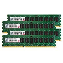 Transcend JetMemory 32 GB DDR3-1333 ECC Registered DIMM 2Rx8 TS32GJMA533H (8 GB x 4 | Mac Compatible) 32 DDR3 1333 (PC3 10600) DDR3 1600