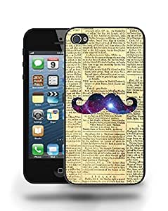 Hipster Vintage Colourful Moustache Phone Case Cover Designs for iPhone 4