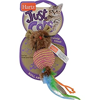 Hartz Just For Cats Roll About Mouse Catnip Toy, Swat (3270014950)