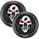 Best BOSS Audio Car Covers - BOSS AUDIO SK553 Phantom Skull 3-Way Black Injection Review
