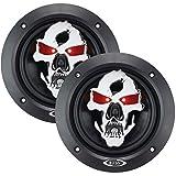 Best BOSS Audio Car Covers - BOSS AUDIO SK553 Phantom Skull 3-Way Black Injection Review