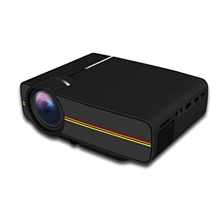ZDZHU Interfaces Mini proyector LED proyector de vídeo Full HD ...