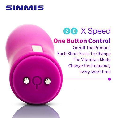 Bullet Vibrators G Spot Clit Dildo Vibrators Orgasm Powerful Dildo Wireless Rechargerable Waterproof Adult Sex Toys for Women