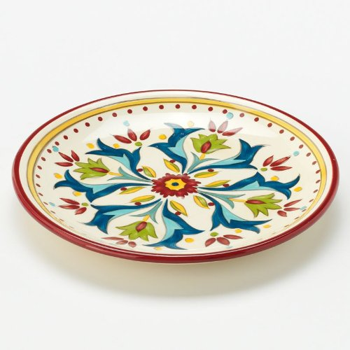 Bobby Flay Home Sevilla Red Canape Plate