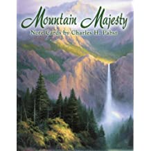 Mountain Majesty by Charles H. Pabst [ASN34606] Blank Note Card Assortment by Leanin' Tree - 12 cards featuring a full-color interior and colorful envelope