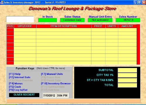 Sales Inventory Manager Point Sale