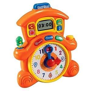 Amazon.com: V-Tech Cuckoo Pet Learning Clock: Toys & Games