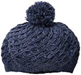 Nirvanna Designs Beret with Pom, Blue/Combo