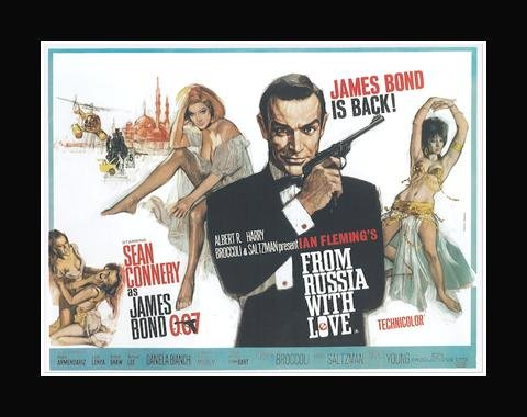 James Bond Official - From Russia With Love Mini Poster