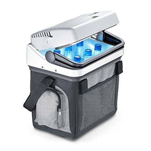 dometic bordbar as 25, tragbare thermo-elektrische kühlbox, 20 liter, 12/24 v und 230 v für auto, lkw und steckdose