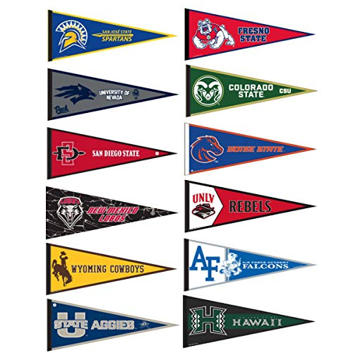 (Mountain West Conference College Pennant)