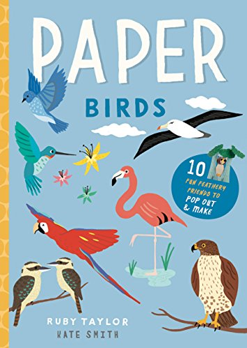 Paper Birds: 10 fun feathery friends to pop out and make