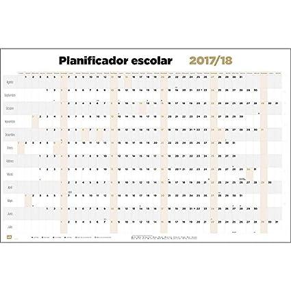 Grupo Erik Editores Poster Planificador Escolar 2017/2018 ...