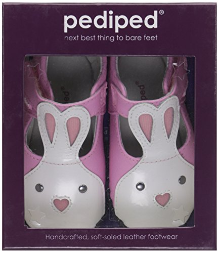Pediped Originals Bonnie Pink Leather Baby Soft Soles Pink
