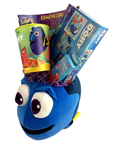 Deluxe Finding Dory Gift Basket Box for Boys and Girls for Travel, Birthday, Get Well, Just Because