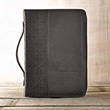 """Guidance"" Black Bible / Book Cover - Proverbs 3:6 (Large)"