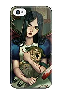 AmandaMichaelFazio Design High Quality Alice Madness Returns Video Game Other Cover Case With Excellent Style For Iphone 4/4s wangjiang maoyi