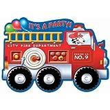 Fire Engine Fun Invitations 8ct