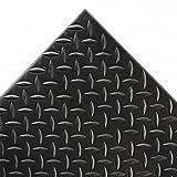 Notrax Diamond Sof-Tred Anti-Fatigue And Safety Mat - 3X6' - Black - Black - 3x6'