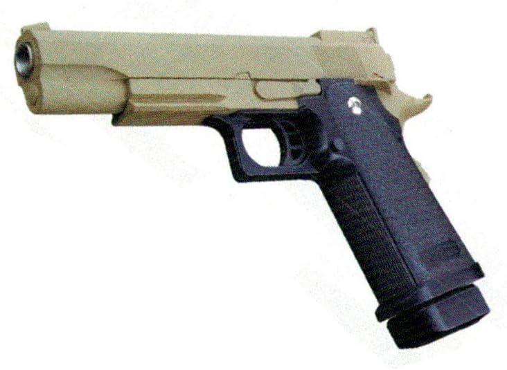 GOLDEN EAGLE Pistola de Muelle Hi-Capa 5.1 Color Negro/marrón Claro