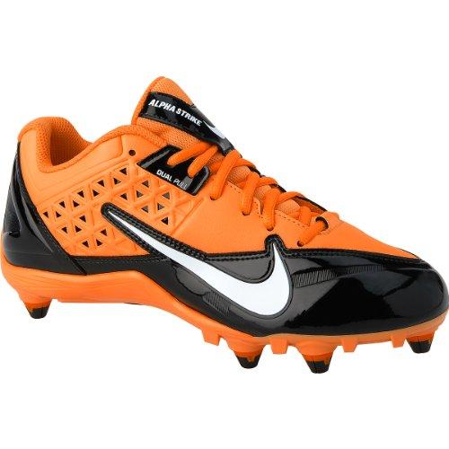 Nike Alpha Strejk 3/4 Td Oss mens 9,5 (svart / Vit / Totalorange)