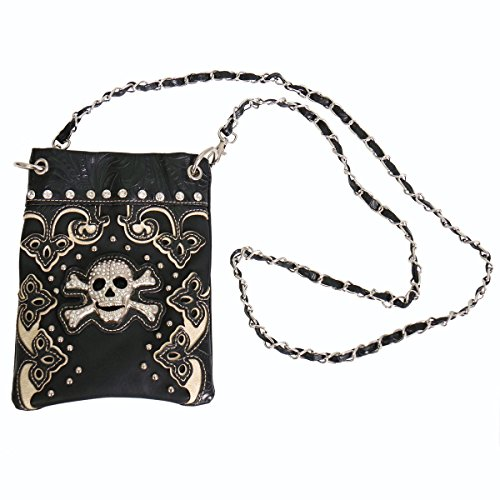 Hot Leathers PUA1139-26578 Skull and Crossbones Purse