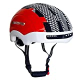 ESASAM Adult Cycling Bike Helmet Specialized for Men Women Safety Protection Impact Resistance Ventilation for Multi-Sports Cycling Skateboarding Scooter Roller Skating (Red and Blue, Medium) For Sale