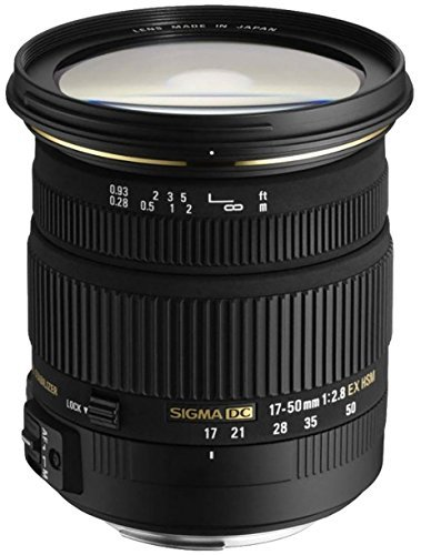 No Warranty International Version Sigma 17-50mm f//2.8 EX DC OS HSM FLD Large Aperture Standard Zoom Lens for Nikon Digital DSLR Camera