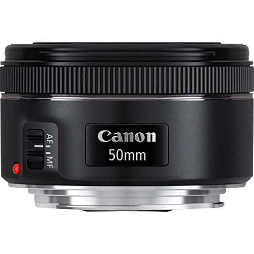 Renewed  Canon EF50MM F/1.8 STM Lens for Canon DSLR Cameras DSLR Camera Lenses