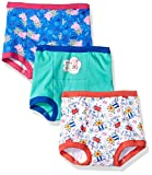 Peppa Pig Toddler Girls' 3pk Training Pant, Assorted Peppa, 3T
