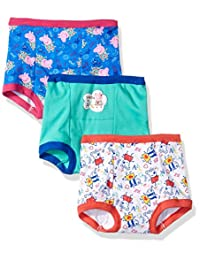Peppa Pig girls Toddler Girls 3pk Training Pant