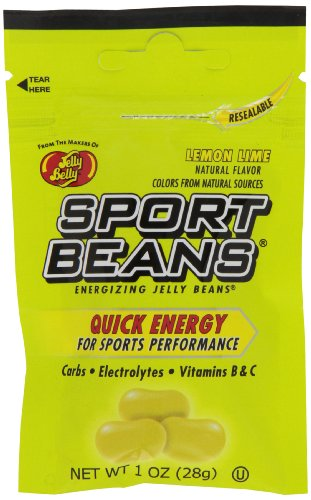 Jelly Belly Sport Beans, Lemon Lime Energizing Jelly Beans, 1-Ounce Bags (Pack of - Jelly Lime Lemon Beans