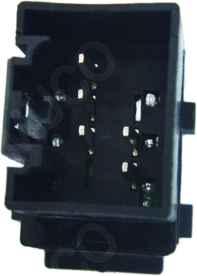 MUCO 901-324 Single Button Electric Master Control Power Window Switch For 2004-2008 Ford F-150 Truck; 2003-2008 Ford Crown Victoria; 2003-2006 Ford Expedition; 2006-2008 Lincoln Mark LT