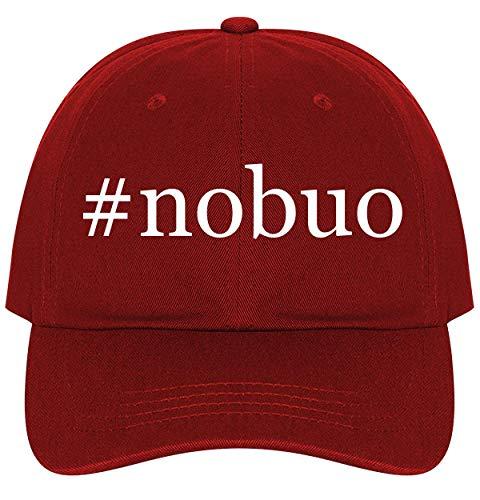 #Nobuo - A Nice Comfortable Adjustable Hashtag Dad Hat Cap, Red (Best Of Nobuo Uematsu)