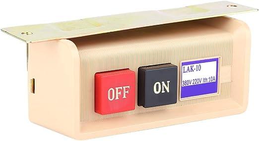 Máquina de coser Interruptor de botón de interruptor de botón de ...
