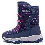 GUBARUN Boys Girls Snow Boots Kids Outdoor Warm