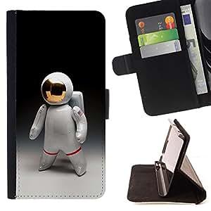 /Skull Market/ - ASTRONAUT MAN COSMONAUT SPACE SUIT For Sony Xperia Z3 D6603 - Caja de la carpeta del tir???¡¯???€????€????????&