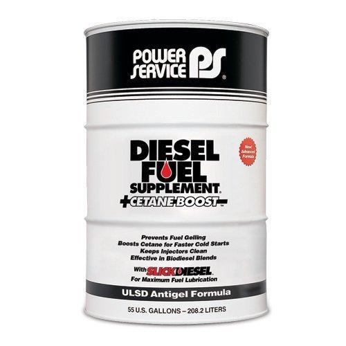 Power Service Diesel Fuel Supplement + Cetane Boost - 55gal. Drum