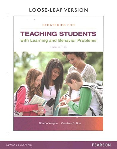Strategies for Teaching Students with Learning and Behavior Problems with Enhanced Pearson eText, Loose-Leaf Version with Video Analysis Tool -- Access Card Package (9th Edition)
