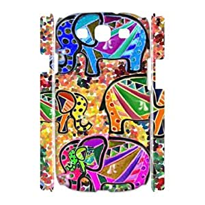 Aztec Elephant 3D-Printed ZLB533024 Customized 3D Phone Case for Samsung Galaxy S3 I9300