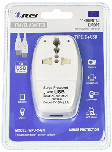 Continental Europe Travel Adapter Protection product image