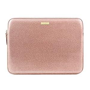 kate spade new york Sleeve for 13″ MacBook, 13″ Laptop – Rose Gold Glitter