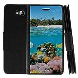 zte reef phone accessories - TurtleArmor   ZTE Majesty Pro Case   Z799VL   Z798BL   Flip Kickstand Leather Flip Wallet Case Cover with Card Slots Ocean Beach Design - Coral Reef