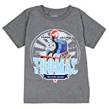 Thomas & Friends Toddler Little Boys Thomas the Tank Train T-Shirt (4T, Grey)