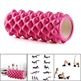 Foam Roller for Muscle Massage,Firm Premium Quality Helps Physical Therapy/Cramp Relief/Tight Muscles,Exercise Equipment,Super Effective Pilates Fitness Gym Trigger Point Exercise Roller (PK)