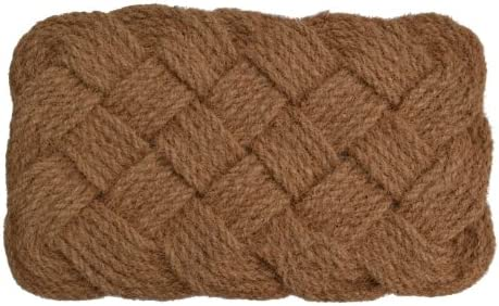Imports D cor Natural Rope Jute Rug, 24-Inch by 37-Inch