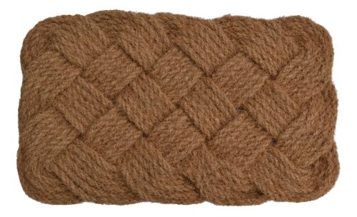 - Imports Décor Natural Rope Jute Rug, 24-Inch by 37-Inch