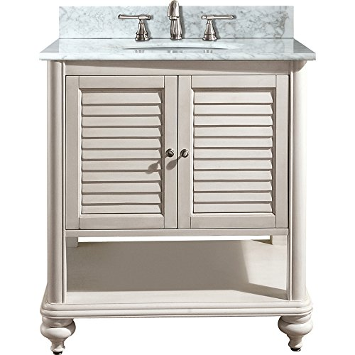 Avanity Tropica 30 in. Vanity Only in Antique White finish For Sale