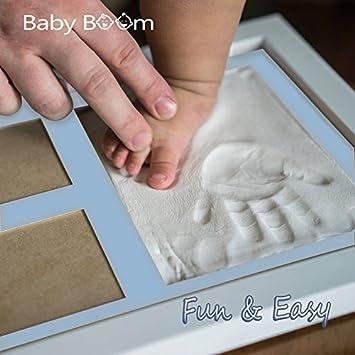 Amazon Baby Handprint Kit Footprint Photo Frame For Newborn